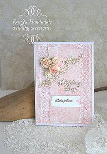 Papiernictvo - Svadobná pohľadnica - 6988552_