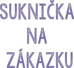 Sukne - Suknička na zákazku  - 6989303_