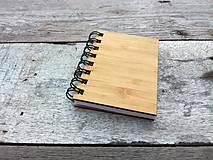 Papiernictvo - Zápisník - Bambus A7 - 6990221_