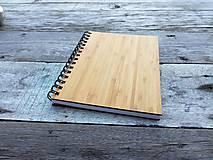 Papiernictvo - Zápisník - Bambus A5 - 6990236_