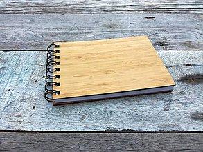 Papiernictvo - Zápisník - Bambus A6 - 6990210_