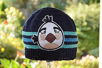 Detské čiapky - Skladom- Háčkovaná čiapka - 6987919_