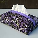 Krabičky - Lavender II. - velký kapesníkovník - 6989860_