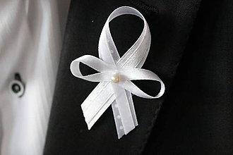 Pierka - Biele svadobné pierka pre hostí - 6987814_
