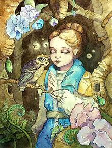 Obrazy - Ilustrácie na zákazku - akvarel - 6989244_