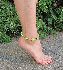Iné šperky - Zelená kolekcia III - 6988302_