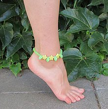Iné šperky - Zelená kolekcia IV - 6988310_