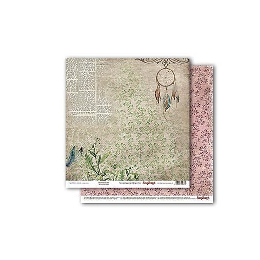 Papier obojstranný 30,5x30,5cm Primavera - Dreamcatcher