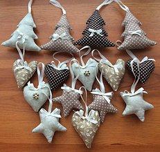 Dekorácie - Vianočné ozdoby - prírodné Vianoce - 6993062_