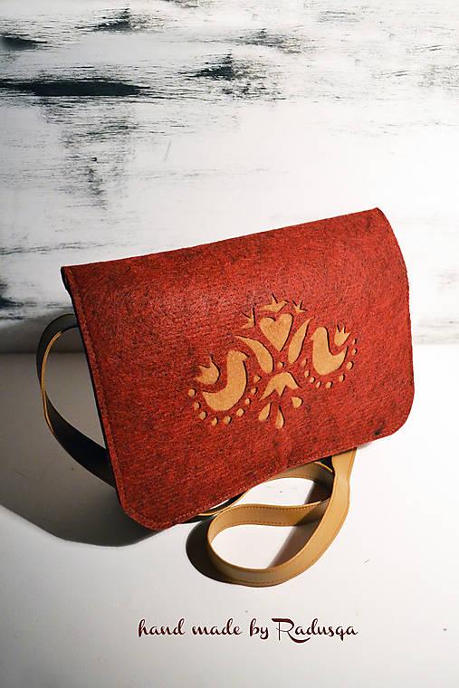 Stredná ľudová kabelka   radusqa - SAShE.sk - Handmade Kabelky cc6accb5c86
