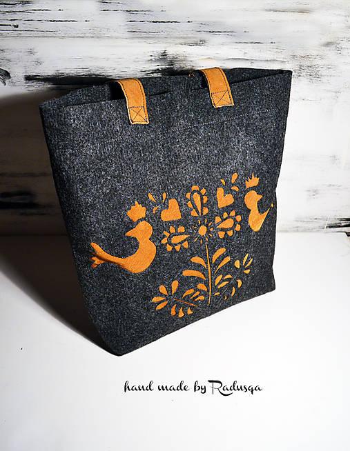 Folk šopr beg III.   radusqa - SAShE.sk - Handmade Veľké tašky 95e60028870