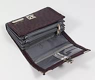 Peňaženky - Purse Middle no.751 - 6991877_