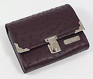 Peňaženky - Purse Middle no.751 - 6991880_