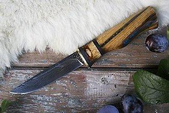 Nože - Damaškový nôž \