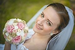 Kytice pre nevestu - Svadobná kytica, ktorá nezvädne - 6991490_