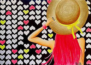 Kresby - Láska visí vo vzduchu - 6994857_