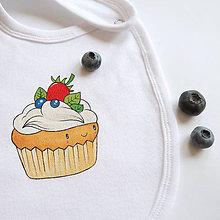 Detské doplnky - Podbradník muffin - 6995680_