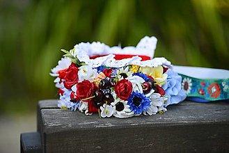 Ozdoby do vlasov - parta na čepčenie by michelle flowers - 6994203_