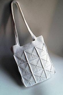 Kabelky - Kabelka - Krémová biela | midi - 6997231_