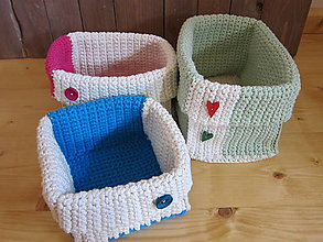 Košíky - veselý kúpeľňový komplet - 6996308_