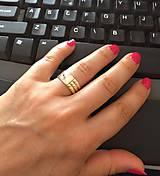 Prstene - Atlantský prsteň zo striebra - 6997319_