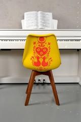 Nábytok - Stolička Olivier Yellow folky - 6994136_