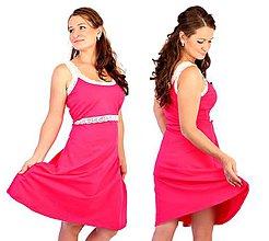 Tehotenské/Na dojčenie - 3v1 dojčiace šaty s čipkou veľ. L-XXL - 6994685_