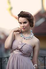 """Náhrdelníky - farebný náhrdelník candy cotton - """"sweet candy"""" - 6996942_"""