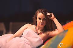 """Náhrdelníky - farebný náhrdelník candy cotton - """"sweet candy"""" - 6996967_"""