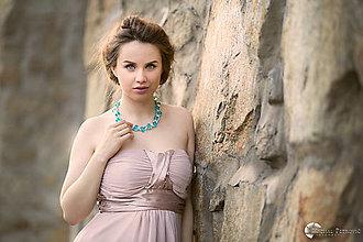 """Náhrdelníky - farebný náhrdelník candy cotton - """"sweet candy"""" - 6996959_"""