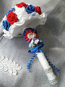 Dekorácie - Gratulačná kytica pri  odovzdávaní cien - 6996557_