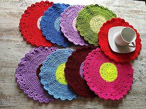 """Úžitkový textil - prestieranie """"color"""" - 6996515_"""