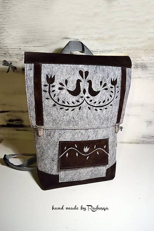 Ľudový batôžtek III.   radusqa - SAShE.sk - Handmade Batohy 40ddbb8918d