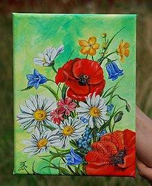 Obrazy - Leto - olej na plátne - 6999312_
