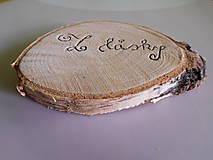 Tabuľky - tabuľka láska nielen na svadobné fotenie 2 - 6999067_