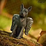 Thajský ridžbek - anjel - figúrka podľa fotografie