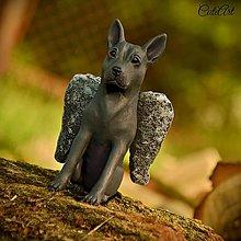 Socha - Thajský ridžbek - anjel - figúrka podľa fotografie - 7000674_
