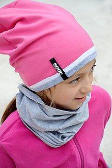 Detské čiapky - jarná čiapka s menom pinky &lollipop - 7000736_