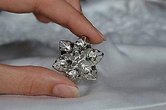 Komponenty - Filigran strieborný kvet, 35x30mm, 0.35€/ks - 6998065_