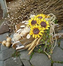 Dekorácie - Slnečnice vo fúriku - 7001607_