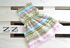 Detské oblečenie - Romantické pastelové 100% bavlna - 7001024_