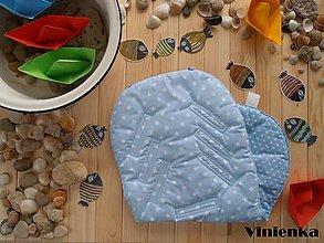 Textil - Vložka/ podložka do kočíka a autosedačky - 7004060_