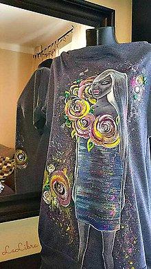 Šaty - maľované šaty na leto - 7001172_