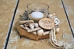 Svietidlá a sviečky - Svietnik...Morský vánok - 7003844_