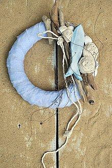 Dekorácie - Veniec...Z darov mora - 7003019_
