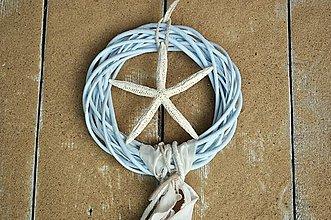 Dekorácie - Veniec...Morská hviezdica - 7003642_