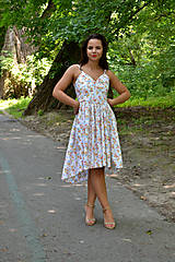 Šaty - Nežné šaty plné drobných kvietkov - 7001026_