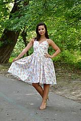 - Nežné šaty plné drobných kvietkov - 7001027_