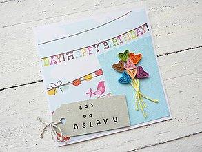 Papiernictvo - blahoželanie k narodeninám - 7002130_