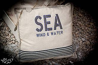 """Úžitkový textil - Vankúšik """"SEA"""" - 7005708_"""
